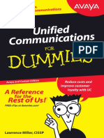 Avaya - Unified Communication for Dummies