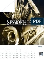 Session Horns Manual English