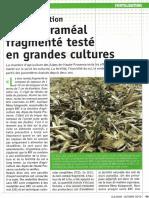 Article Cultivar octobre 2013_Le BRF testé en GC