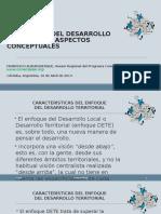 2. Enfoque Desarrollo Territorial Cordoba 2014