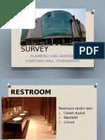 Survey Plamsan Di Hartono Mall