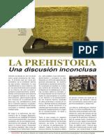 La Prehistoria Una Discusion Inconclusa