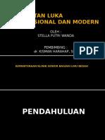 Perawatan Luka Konvensional Dan Modern