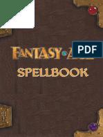 Fantasy Age - Spellbook