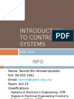 1-Introduction to Control Systems