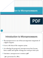 introduction to 8085  Microprocessor