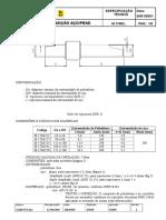 Gas Brasiliano - M 1786-2001 - Junta de Transição Aço-PEAD