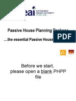 PHPP Workshop Presentation