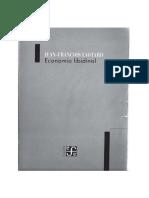 Jean-Francois Lyotard-Economia Libidinal (Spanish Edition) (1990)