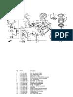 Manual de partes Honda Dominator