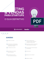 Marketing e Vendas Para Startups