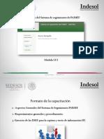 Capacitación Sistema IFI 3