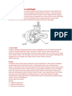 Menghitung Pompa Centrifugal