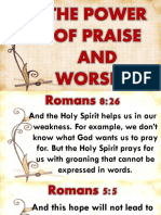 The Power of Praise and Worship.pptxby Bishopwisdom020716