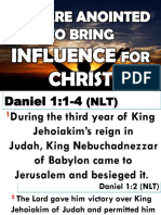 You Are Anointed to Bring Influence for Christ.pptxby Apostle Abraham