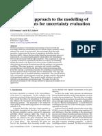 Modelling of Measurement for Uncertanty Evaluation (1)