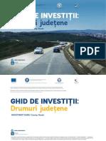 Ghidul de Investiții pentru Drumuri Județene