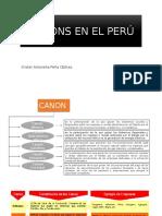 Canons en El Perú