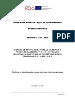 PT2020  - Concurso patentes