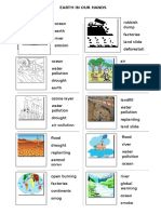 Earth in Our Hands Worksheets