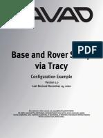 BaseRover via Tracy Configuration Example