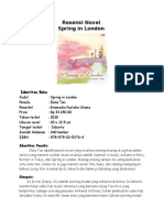 Resensi Novel Spring in London