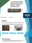 Ekstrasi Titanium Dioksida (Tio2) Berbahan Baku