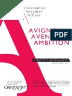 AVIGNON AVENIR AMBITION-Charte partenaires