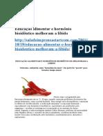 Educação Alimentar e Hormônio Bioidêntico