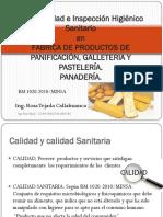 Buenas Prácticas de Manufactura en Panadería RM 1020-2010