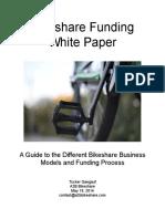 Bikeshare Funding White Paper