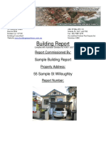 BRNSW Sample Building Report