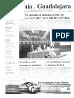 Periódico Economía de Guadalajara #14 Junio 2008