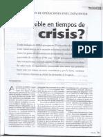 Es Posible en Tiempos de Crisis