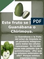 Chirimoya. La fruta milagrosa