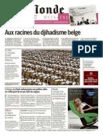 Le Monde + 2 suppléments du dimanche 27 mars 2016