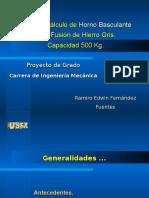 Presentación_Horno Basculante Para Fundición