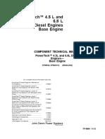 Technical Manual 4.5l & 6.8l JD