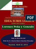 Lorenzo Peña: IDEA IURIS LOGICA
