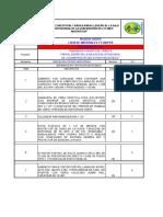 Lista de Materiales y Equipos Sss