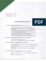 CV d'Hélène Gauthier