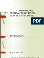 post- optimalidad y programacion lineal