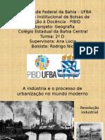 A indústria e o processo de urbanização.pptx