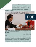 Instalarán una mesa de negociaciones en Ecuador y habrá pláticas en otros 4 países de AL