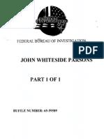 Jack Parsons FBI File