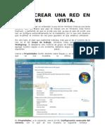 Como Crear Una Red en Windows Vista