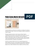 [Entrevista] Pedro Costa_ Morrer Mil Mortes - PÚBLICO