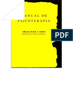 Mira Y Lopez - Manual de Psicoterapia