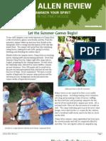 Spring Newsletter 2010