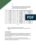 Ejercicio - Áreas Excel